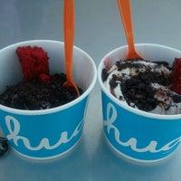 Photo taken at Huddle's Frozen Yogurt by Julius S. on 5/23/2012