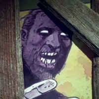 Photo taken at Zombie Burger + Drink Lab by Adam Q. on 9/14/2011