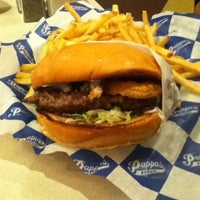 Photo taken at Pappas Burger by Tom M. on 3/10/2011