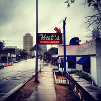 Photo taken at Hut's Hamburgers by Ian A. on 3/10/2012