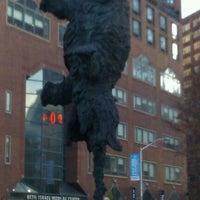 Photo taken at Bronze Elephant Statue by Tara P. on 12/3/2011