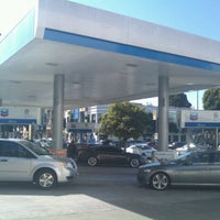 Photo taken at Chevron by Max G. on 2/19/2012