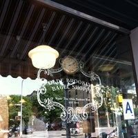 Photo taken at Olde Brooklyn Bagel Shoppe by Raul M. on 5/27/2012