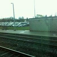 Photo taken at Eglinton GO Station by Jaime B. on 11/23/2011