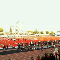 Photo taken at Roos Field by Nate C. on 10/15/2011