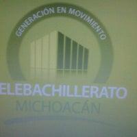 Foto tomada en Telebachillerato Michoacán - Oficinas centrales por Carlos R. el 1/17/2012