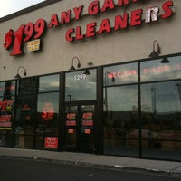 Photo taken at $1.99 Any Garment Cleaners by Bill O. on 4/24/2012