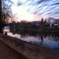 Photo taken at RER Joinville-le-Pont [A] by Rodrigo S. on 11/20/2011