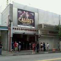 Photo taken at Teatro Procópio Ferreira by Rafael N. on 1/14/2012