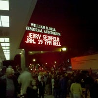 Photo taken at Bell Auditorium by Patrick R. on 1/20/2012