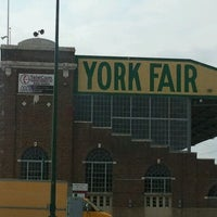 Photo taken at York Fairgrounds & Expo Center by Melissa A. on 9/2/2011