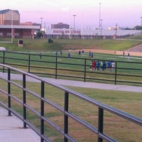 Photo taken at Tully Stadium by Angelique M. on 8/16/2011