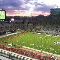 Photo taken at Arizona Stadium by Amy J. on 9/25/2011