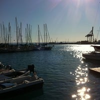 Photo taken at Porto di Catania by Francesca M. on 1/8/2012
