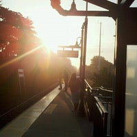 Photo taken at LIRR - Medford Station by Mikel K. on 8/2/2012