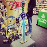 Photo taken at EB Games by Donna J. on 11/20/2011