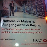 Photo taken at HSBC Bank by Shin T. on 3/6/2011