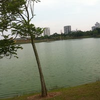 Photo taken at Taman Tasik Ampang Hilir by Shima A. on 6/24/2012