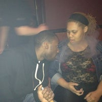 Photo taken at Arabian Nights Hookah Bar and Lounge by Devin R. on 3/4/2012