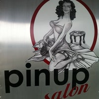 Photo taken at Pinup Salon by Eileen L. on 7/27/2012