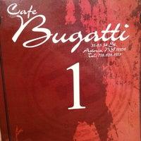 Photo taken at Cafe Bugatti by Patrick H. on 4/15/2012