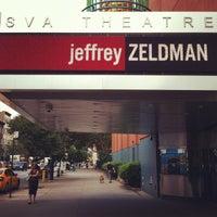 Photo taken at SVA Theatre by Jeffrey Z. on 6/14/2012