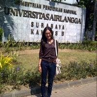 Photo taken at Universitas Airlangga (UNAIR) by Sindy N. on 8/30/2012