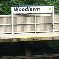 Photo taken at Metro North - Woodlawn Train Station by Dexter J. on 6/28/2012