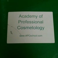 Photo taken at Academy Of Professional Cosmetology by Angela B. on 2/6/2012