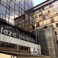 Photo taken at Plaza Polanco by Ignacio V. on 7/7/2012