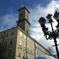 Photo taken at Rynok Square by Roman💙💛 on 2/27/2012