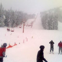 Photo taken at Manning Park Resort by Scenic Travel Canada on 4/9/2012