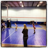 Photo taken at Volleyball Institute of Plano by Steve B. on 2/11/2012