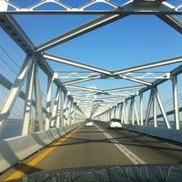 Photo taken at Chesapeake Bay Bridge by Craig N. on 6/9/2012