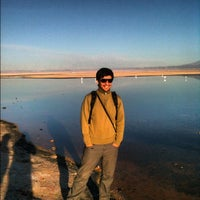Photo taken at Salar de Atacama by iJen V. on 4/6/2012