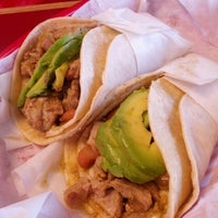 Photo taken at Super Taqueria by Tala T. on 6/1/2012