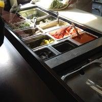 Photo taken at Moody's Falafel Palace by David F. on 2/22/2012