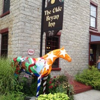 Photo taken at Olde Bryan Inn by Mike Q. on 7/19/2012
