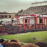 Photo taken at Alumni Stadium by Ryan D. on 5/21/2012