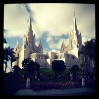 Photo taken at San Diego California Temple by Toktam T. on 5/27/2012