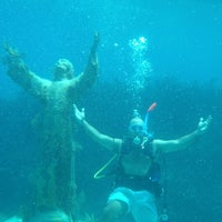 Photo taken at Christ of the Deep by Marc P. on 7/6/2012
