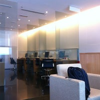 Photo taken at Cathay Pacific First and Business Class Lounge by Alex K. on 7/25/2012