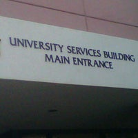 Photo taken at University Services Building by Karen S. on 10/21/2011