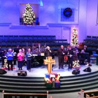 Photo taken at West Acres Baptist by Eric O. on 12/26/2011