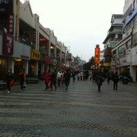 Photo taken at 正阳步行街 Guilin Walking Street by ^^JaJaJa^^ on 3/16/2012