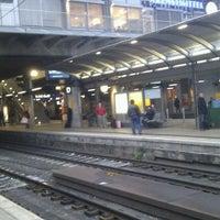 Photo taken at Mainz Hauptbahnhof by Sascha D. on 12/1/2011