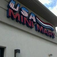 Photo taken at USA Mini Mart by Nancy L. on 6/13/2012