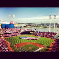 Photo taken at Great American Ball Park by Chip M. on 4/5/2012