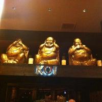 Photo taken at Koi Restaurant by Lyndsey B. on 3/12/2012