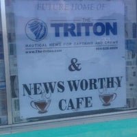 Photo taken at Newsworthy Cafe by David R on 10/15/2011